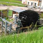 Wasserkraftwerk im Pleiße-Mühlgraben bei Fockendorf.