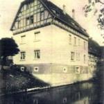 Fockendorfer Mühle um 1912